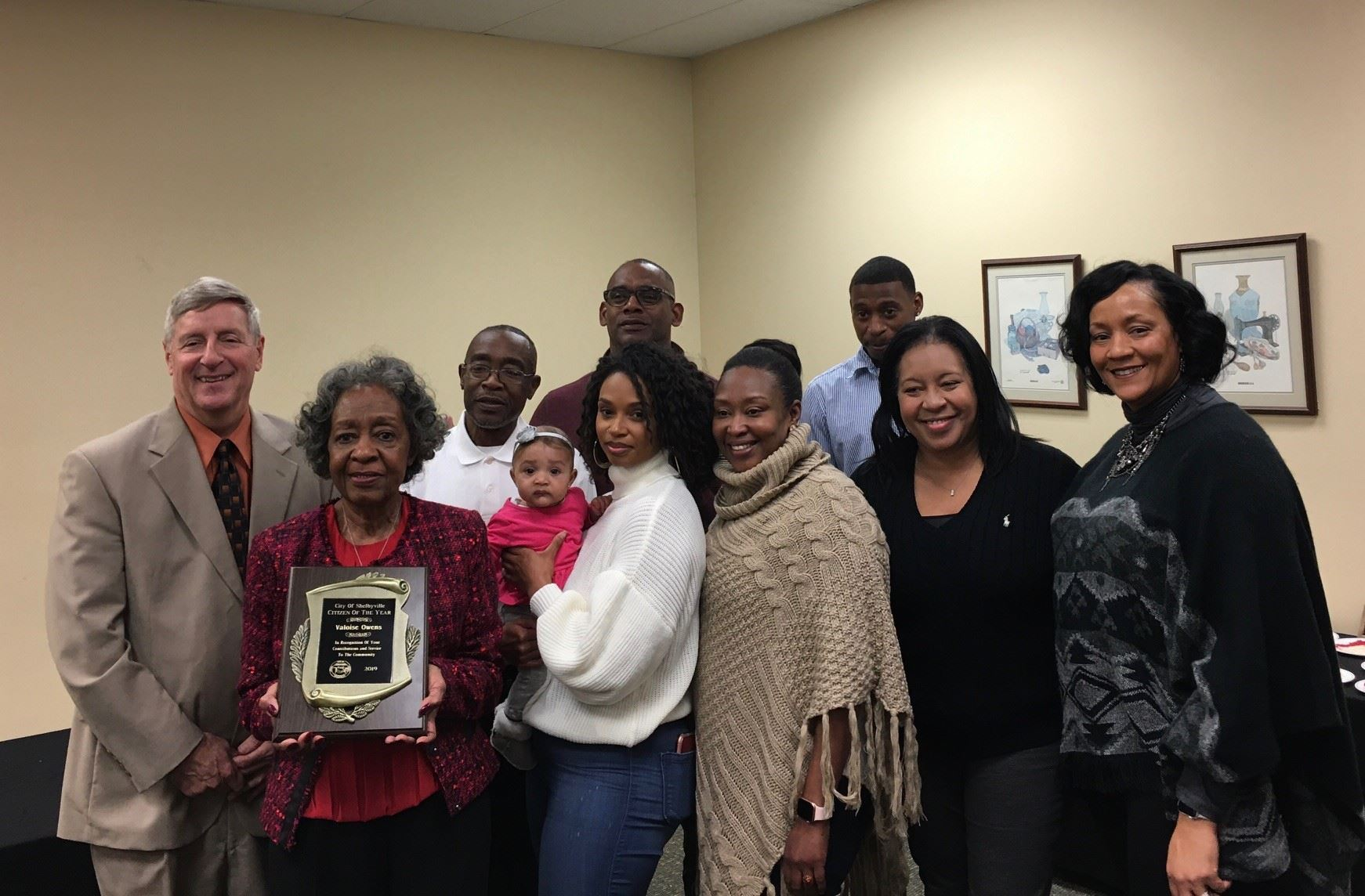 Val Owens 2019 Citizen of the Year